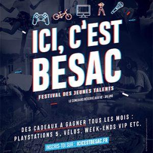 Festival jeunes talents Ici c'est Besac